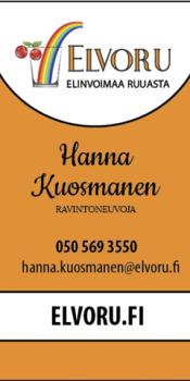Elvoru KÄYNTIKORTTIfinal reunoilla